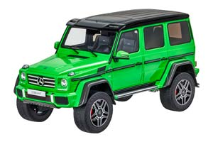 Mercedes W463 G500 4x4 Crazy Colour 2017 Green Limited Edition 463 Pcs.