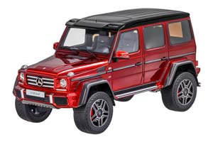Mercedes W463 G500 4x4 Crazy Colour 2017 Red Limited Edition...