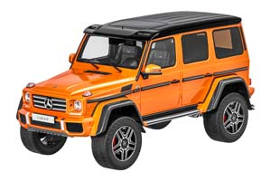 Mercedes W463 G500 4x4 Crazy Colour 2017 Orange Limited Edition 463 Pcs.