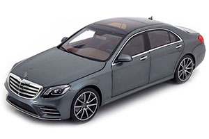 MERCEDES W222 S-CLASS FACELIFT 2017 GREY METALLIC