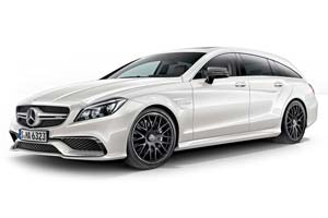 MERCEDES W218 CLS 63 AMG SHOOTING BRAKE 2014 DIAMOND WHITE LIMITED EDITION 1000 PCS.