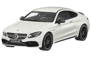 MERCEDES AMG C63 S C205 COUPE 2016 WHITE SPECIAL EDITION BY MERCEDES LIMITED 1000 PCS.