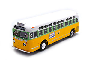 GM TDH-3610 ROSA PARKS USA 1955 YELLOW/WHITE