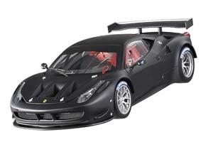 Ferrari 458 Italia GT2 2011 Matt Black Plain body