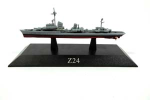 SHIP GERMAN DESTROYER Z24 TYPE 1936A 1943 *КОРАБЛЬ