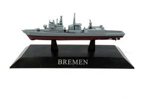 SHIP FRIGATE OF THE NAVY OF GERMANY TYPE BREMEN (BREMEN) 1982 *КОРАБЛЬ