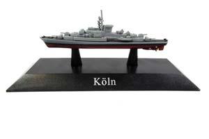 SHIP FRIGATE OF THE NAVY OF GERMANY TYPE COLN (KOLN) 1961 *КОРАБЛЬ