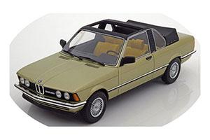 BMW E21 323i Baur Convertible 1979 Light Green Metallic