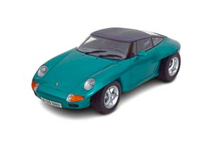 PORSCHE PANAMERICANA CONCEPT CAR IAA FRANKFURT 1989 GREEN METALLIC/GREY LIMITED EDITION 1000 PCS. *ПОРШЕ ПОРШ
