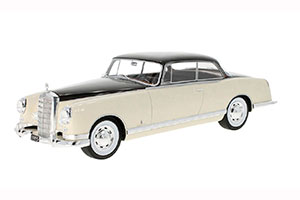 MERCEDES-BENZ 300B PININFARINA 1955 BEIGE/DARK RED