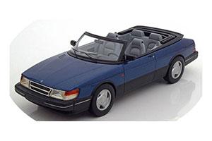 Saab 900 S Convertible 1987 Blue Metallic Limited Edition 1000 Pcs.
