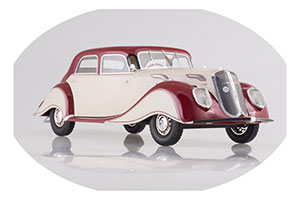 Panhard Levassor Dynamic 1936 Creme/Dark Red Limited Edition 1000 Pcs.