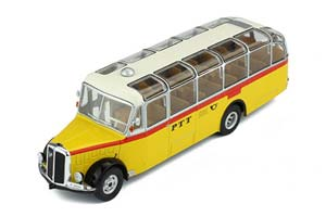 SAURER L4C PTT POST 1959 YELLOW/WHITE