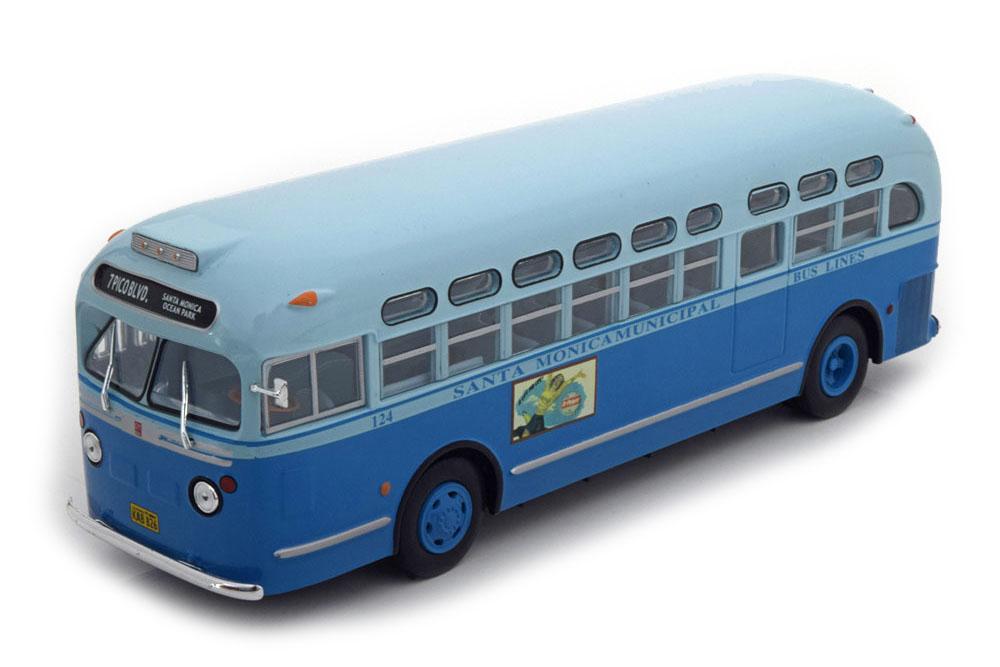 GM TDH-3714 SANTAMONICAMUNICIPAL 1955 BLUE *ДЖЕНЕГАЛ МОТОРС