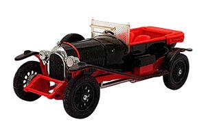 BENTLEY 3-LITRE 1927 BLACK/RED