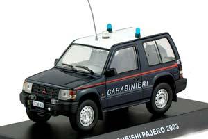 MITSUBISHI PAJERO II 2003 3D CARABINIERI *МИЦУБИШИ МИТСУБИСИ МИТСУБИШИ МИТСУБИСИ