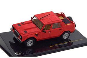 Lamborghini Le Mans 002 1986 Red