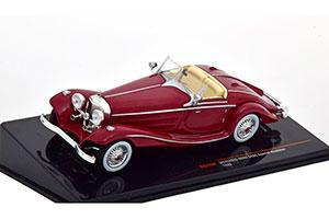 MERCEDES W29 540K SPEСIAL ROADSTER 1936 DARK RED