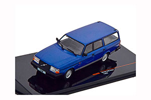 VOLVO 240 GL ESTATE POLAR 1988 METALLIC BLUE