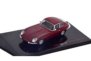 JAGUAR E-TYPE COUPE 1963 DARK RED *ЯГУАР ДЖАГУАР