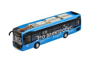 KAMAZ 6282 ELECTROBUS MOSCOW (USSR RUSSIA) 2021 BLUE | КАМАЗ 6282 ЭЛЕКТРОБУС МОСКВА