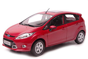 FORD FIESTA 2011 RED
