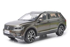 VW VOLKSWAGEN TIGUAN L 2018 BROWN