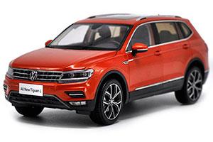 VW VOLKSWAGEN TIGUAN L 2018 ORANGE