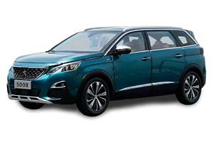 PEUGEOT 5008 2020 LIGHT BLUE