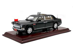 HONGQI CA7600J PARADE CAR FOR THE 70TH ANNIVERSARY OF THE VICTORY OF THE ANTI-JAPANESE WAR 2020 BLACK