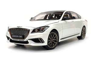 GENESIS G80 3.3T SPORT SEDAN 2020 WHITE LIMITED EDITION 250 PCS