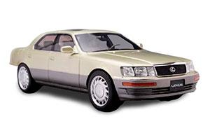 LEXUS LS400 1992 GOLDEN