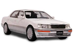 LEXUS LS400 1992 WHITE
