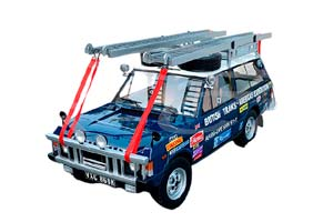 LAND ROVER BRITISH TRANS-AMERICAN EXPEDITION 1971-1972 BLUE *ЛЭНД ЛЕНД РОВЕР ЛЕНТ