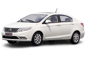 DONGFENG FENGSHEN A30 2018 WHITE