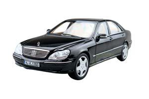 MERCEDES W220 S600 S-CLASS 1998 BLACK