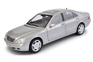 MERCEDES W220 S600 S-CLASS 1998 SILVER