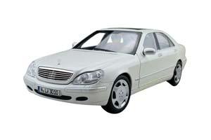 MERCEDES W220 S600 S-CLASS 1998 WHITE