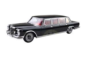 MERCEDES W100 600 PULLMAN 1966 BLACK