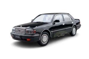 TOYOTA CROWN 1995 BLACK