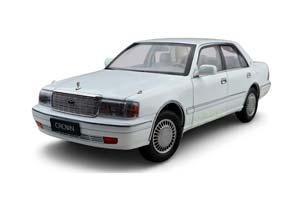 TOYOTA CROWN 1995 WHITE