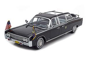 LINCOLN CONTINENTAL X100 QUICK FIX JOHNSON 1964 SCHWARZ LIMITED EDITION 300 PCS. *ЛИНКОЛЬН