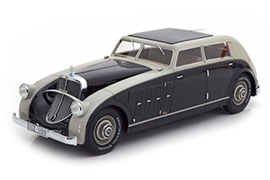 MAYBACH ZEPPELIN DS8 STREAMLINER SPOHN 1932 GREY/BLACK LIMITED EDITION 300 PCS. *МАЙБАХ