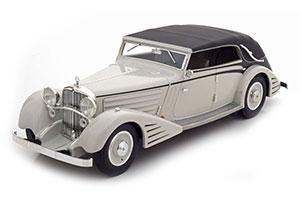 MAYBACH DS8 STREAMLINES-CONVERTIBLE SPOHN 1934 LIGHT GREY/BLACK LIMITED EDITION 300 PCS. *МАЙБАХ