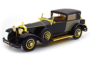 ROLLS-ROYCE PHANTOM 1 RIVIERA TOWN BROUGHAM BY BREWSTER & CO. 1929 BLACK/GOLDEN LIMITED EDITION 300 PCS. *РОЛЛС РОЙС РОЛС РОЙСЕ ROLS ROIS
