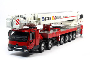 MERCEDES SANY DG100 XCMG FIRE TRUCK CLIMBING PLATFORM 2019 WHITE/RED *BENZ BENC МЕРСЕДЕС БЕНС МЕРСИДЕС МЕРСЕДЕЗ БЕНЦ
