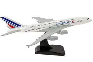 AIRBUS A380 AIR FRANCE | АЭРОБУС A380 AIR FRANCE ДЛИНА МОДЕЛИ 19 СМ *ЭЙРБАС АЭРОБУС АИРОБУС