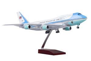 BOEING 747 PRESIDENT OF UNITED STATES | БОИНГ 747 ПРЕЗИДЕНТА USA С ОСВЕЩЕНИЕМ САЛОНА НА ШАССИ ДЛИНА 46 СМ *БОИНГ