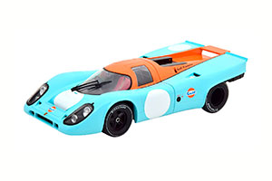 PORSCHE 917K VERSION 3 WITHOUT START NUMBER GULF WITH DECALS FOR 2 DIFFERENT RACE