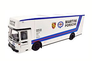 MERCEDES O317 PORSCHE RACE TRANSPORTER MARTINI RACING 1968 MARTINI